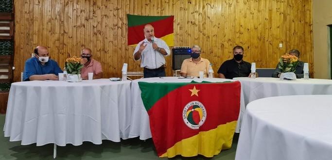 CLÁUDIO DIAZ ASSUME A PRESIDÊNCIA DO RIO GRANDE EM SESSÃO SOLENE DO CONSELHO DELIBERATIVO