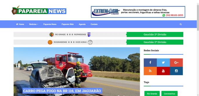 PAPAREIA NEWS DISPONIBILIZARÁ PLACAR DOS JOGOS DA DUPLA RIO-RIO EM TEMPO REAL