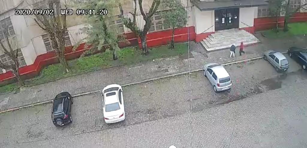 POLÍCIA CIVIL JÁ TEM SUSPEITOS DE ASSALTO EM FRENTE À ESCOLA JUVENAL MILLER