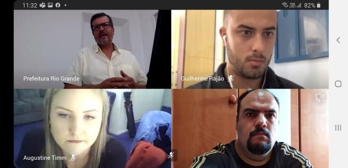 PREFEITURA ANUNCIA REDE DE SOLIDARIEDADE POR VIDEOCONFERÊNCIA