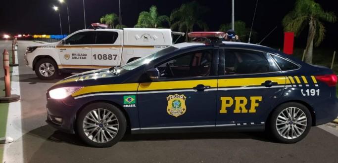 PRF APREENDE PESCADOS EM RIO GRANDE E REALIZA PRISÕES NA BR 116