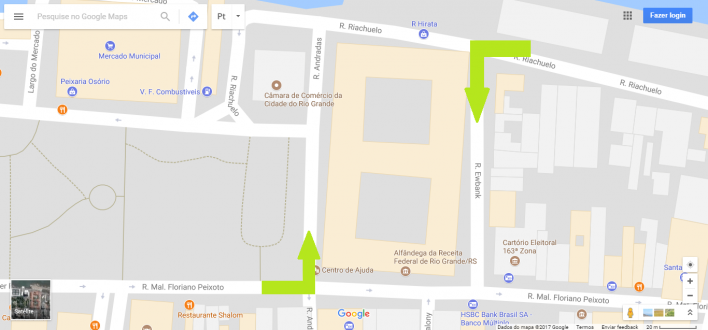 RUAS DO CENTRO TERÃO SENTIDOS ALTERADOS A PARTIR DE AMANHÃ