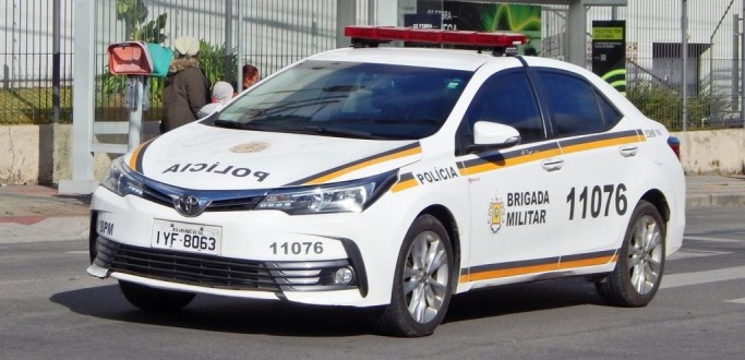BRIGADA MILITAR PRENDE ASSALTANTE E RECUPERA VEÍCULO FURTADO, EM PELOTAS