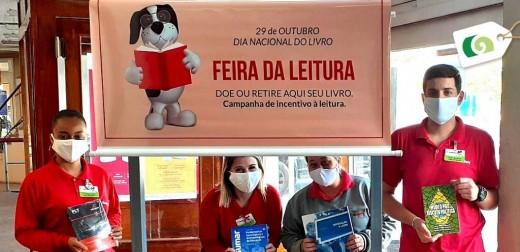 REDE GUANABARA PROMOVE FEIRA DE LEITURA