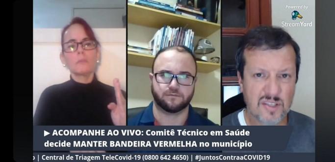 PREFEITURA ANUNCIA MANUTENÇÃO DA BANDEIRA VERMELHA EM RIO GRANDE