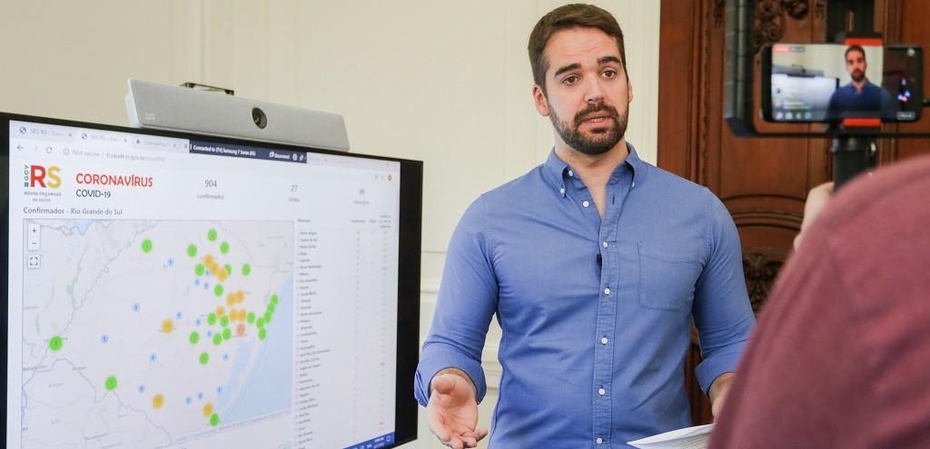 EDUARDO LEITE APRESENTA MODELO DE DISTANCIAMENTO SOCIAL CONTROLADO