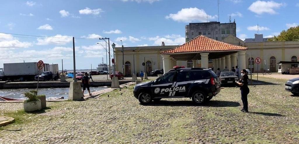 POLÍCIA CIVIL AUXILIA NA FISCALIZAÇÃO DE MEDIDAS DE PREVENÇÃO AO CORONAVÍRUS