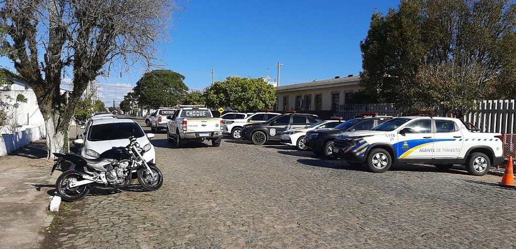 OPERAÇÃO DE COMBATE AOS CRIMES CONTRA A VIDA E O PATRIMÔNIO É DEFLAGRADA EM CAMAQUÃ
