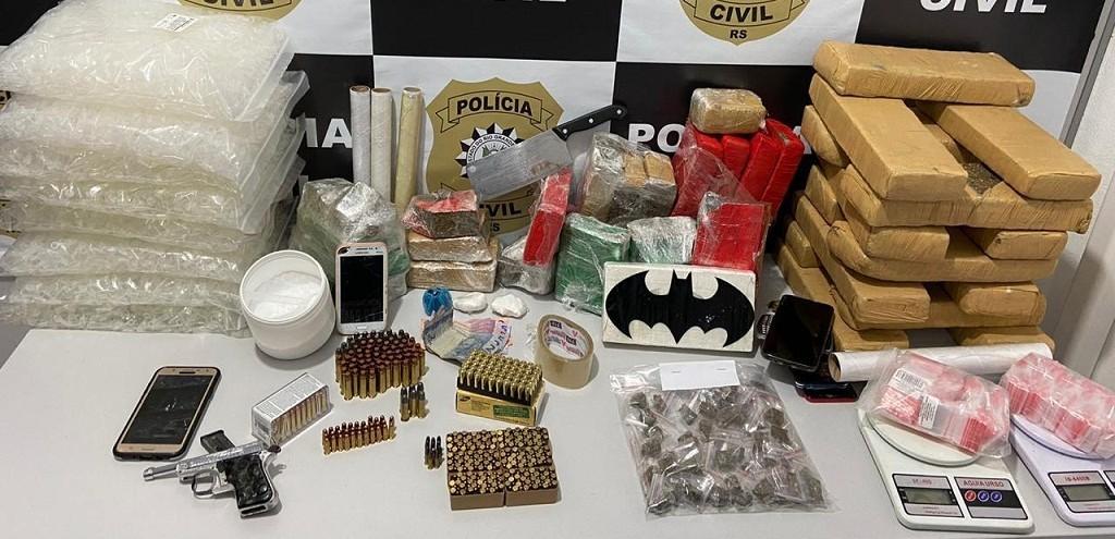 POLÍCIA CIVIL DESARTICULA ORGANIZAÇÃO CRIMINOSA NO BAIRRO SANTA ROSA