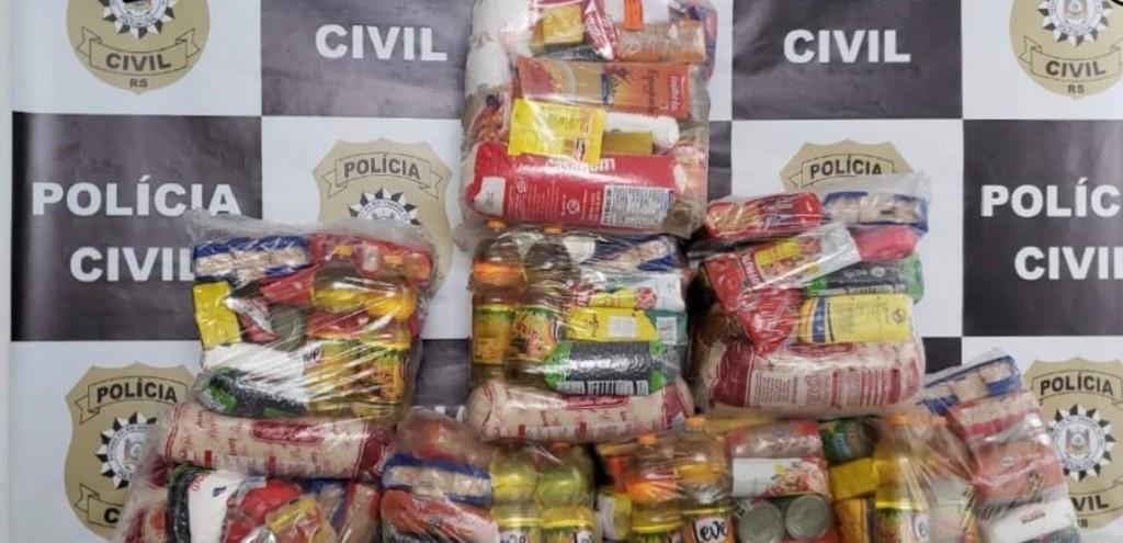 POLÍCIA CIVIL REALIZA OPERAÇÃO DE ARRECADAÇÃO DE ALIMENTOS PARA FAMÍLIAS CARENTES