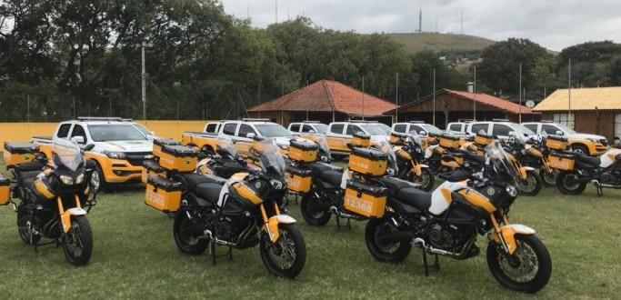 COMANDO RODOVIÁRIO DA BRIGADA MILITAR RECEBE 35 NOVAS VIATURAS DO GOVERNO