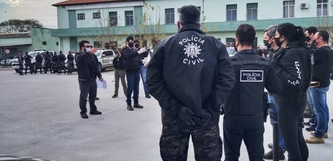 CINCO PESSOAS SÃO PRESAS EM OPERAÇÃO DA POLÍCIA CIVIL PARA COIBIR HOMICÍDIOS