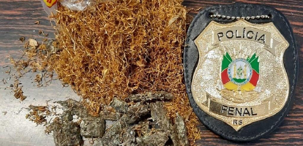 AGENTES PENITENCIÁRIOS LOCALIZAM DROGA EM PACOTE DE FUMO ENVIADO PELO SEDEX