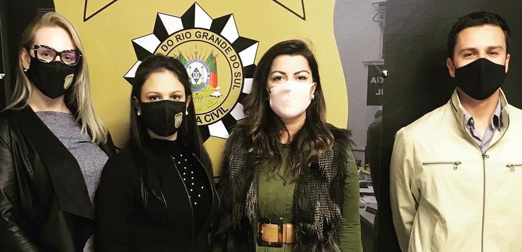 DELEGADA REGIONAL RECEPCIONA NOVOS DELEGADOS QUE ATUARÃO EM RG E REGIÃO