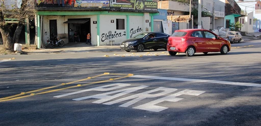 NOVA ROTATÓRIA ORGANIZA O TRÂNSITO PRÓXIMO À GUABIROBA EM PELOTAS